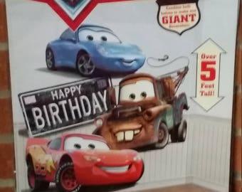 Disney cars stickers