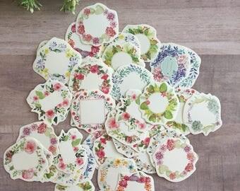 Planner Sticker Set (Floral Wreaths)