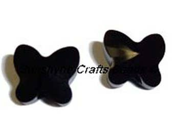 Swarovski Crystal Elements Beads 5754 8MM Faceted Butterfly Bead - Available in Several Colors