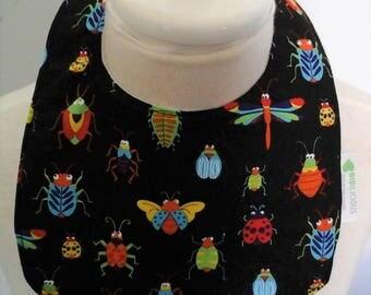 Baby bib -Bugs