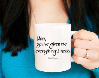Mom Mug, Gilmore Girls Mug, Mothers Day Gift, Mug for Mom, Rory Gilmore Mug, Lorelai Gilmore, Gift for Mothers Day, Coffee Mug for Mom
