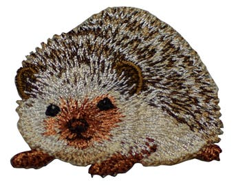 Hedgehog Porcupine Applique Patch (Iron on)