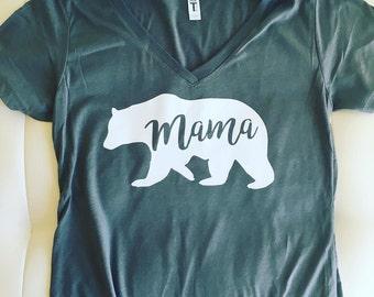 Mama Bear Vnecks