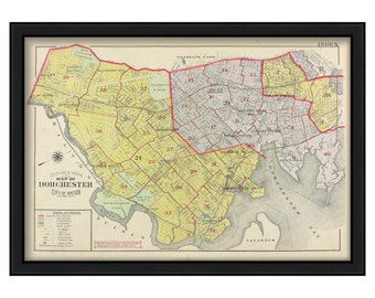 Map of Dorchester 1904