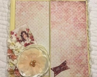 Photo Album / Journal Album / Tales of you and Me Design Paper
