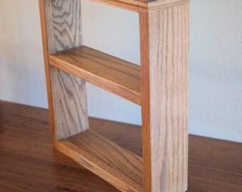 Handmade Oak Wall Shelf