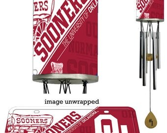 Oklahoma Sooners Wind Chime