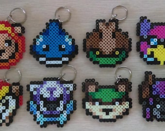 Rivals of Aether Heads Perler Keychains