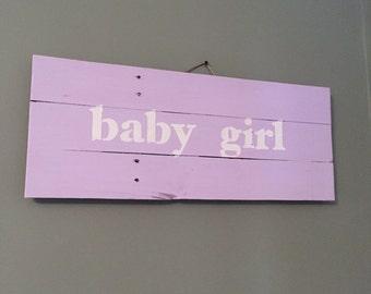 Purple Baby Girl