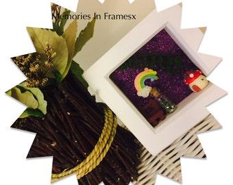 Mini Fairy Garden Frame