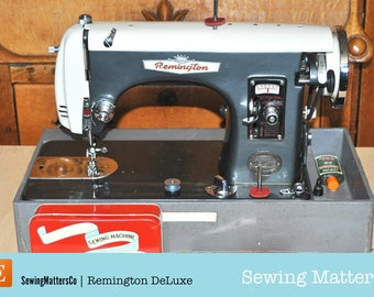 Remington Deluxe Sewing Machine Manual PDF Download