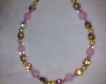 Golden Sunrise Crystal Bracelet
