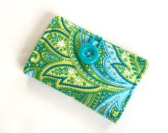 Business Card Holder - Cloth Credit Card Holder - Travel Wallet - Gift Card Holder - Gift Card Wallet - Credit Card Wallet