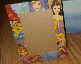 Disney Princess Themed Picture Frames