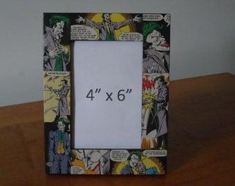 The Joker 4x6 Picture Frame