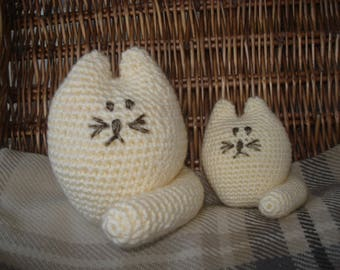Crochet Cat Set