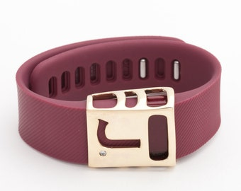 Fitbit Charge & Charge HR CUSTOM brass Chisel slide accessory • as seen in Shape Magazine!