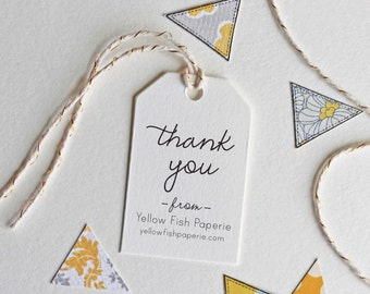 Custom thank you stamp with etsy shop name, business stamp, self inking or wood handle