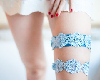 No.11 Lace Garter, Blue, Something Blue