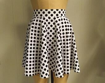 Ann Full Circle Short Skirt