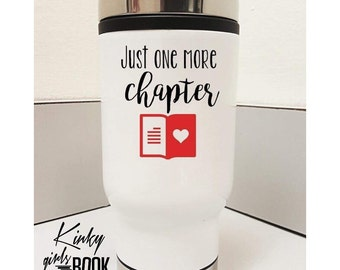 One More Chapter Travel Mug