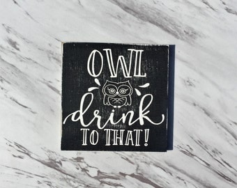 Owl Drink to That-MAGNET