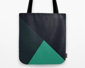 Minimal graphic print tote bag, totes, handbag, beach bag, shopping bag, reusable grocery bag, shoulder tote, shoulder bag, lunch tote bag