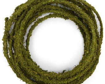 25' Moss Garland for Woodland Weddings Garden Decor Table Setting Decor Floral Florist
