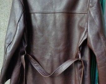 Exceptional leather jacket ,Men leather jacket,Leather jacket vintage  , Gift for Men