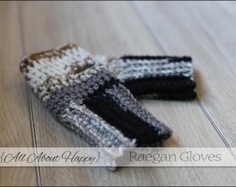 Raegan Gloves, fingerless gloves, wrist warmers