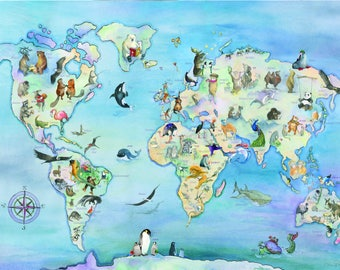 World Map Custom