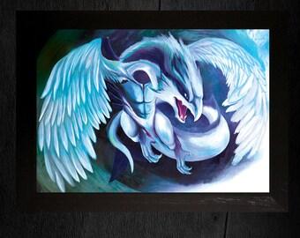 A3 Pokemon Print - Lugia