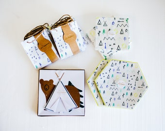 Camping or Outdoors Birthday Party Kit