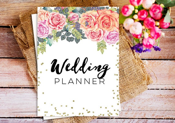 The Ultimate Wedding Planner Printable Organizer Kit DIY Binder Cover Instant Download