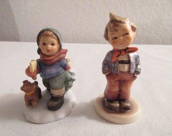 Vintage Porcelain Hummel Figurines