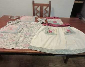 Vintage Quilted Full Aprons - 2