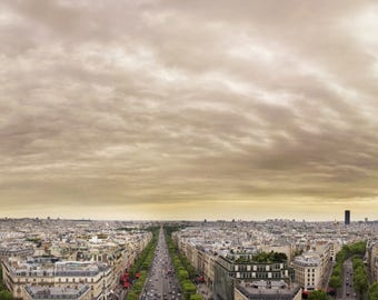 Paris Panorama, Eiffel tower, Arc de Trioumphe