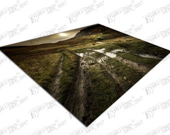 Print on Canvas Walker's Paradise Peak district english Countryside X1464