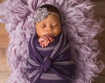 Newborn stretch wraps, newborn photo props, loose knit wraps,