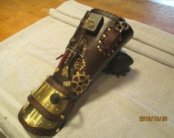Steampunk thieve's bracer