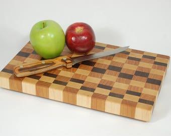 End grain cutting board.