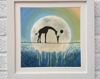 Dream Big,Fine Art, Mounted Giclee Print, UK Seller.