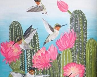Lovely Hummingbirds