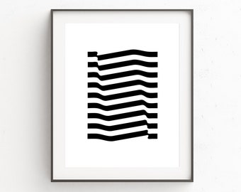 Black Art, Minimalist Home Decor, Black Wall Decor, Modern Printable Art, Black Abstract, Downloadable Prints, Printable Art, Print at Home