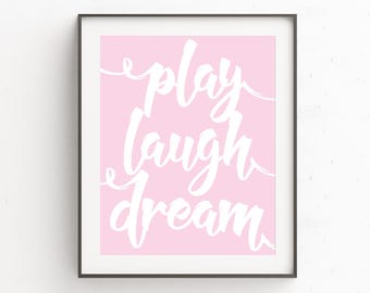 Nursery Art | Nursery Wall Artwork | Kids Wall Art Ideas