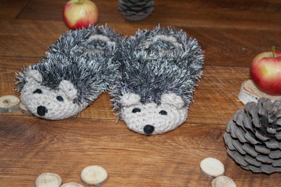 Slippers hedgehog Toddler Knit Socks Baby slippers and
