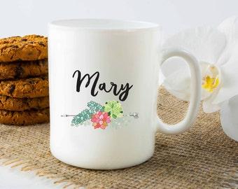 Personalized Mug, Customized Mug, Mug with a name