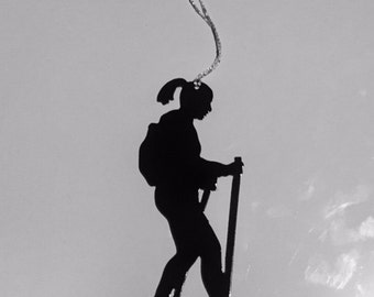 Snowshoeing Ornament