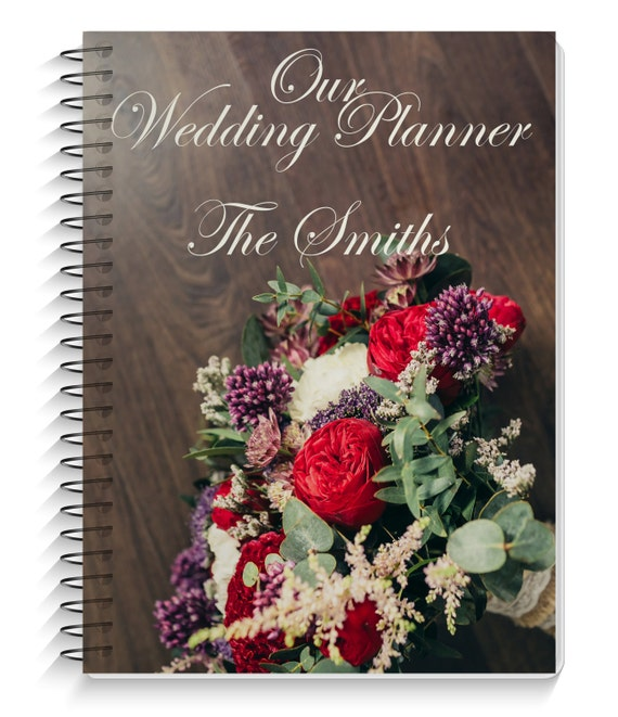 Gift For Wedding Planner: Wedding Planner Wedding Planning Book Personalized Cover