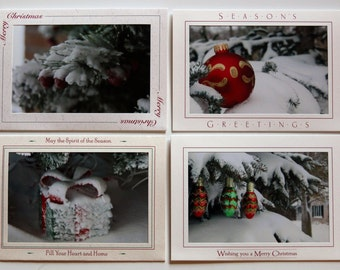 LoJo Photo Cards-Christmas Snow Storm